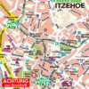 Ausschnitt Cityplan Itzehoe