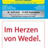 Wedel und Haseldorf, 1:25.000 Stadtplan und Amtsplan