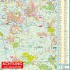 Tornesch, Uetersen und Amt Moorrege 1 : 30.000 Stadtplan und Amtsplan