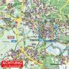 Itzehoe Amt und Stadt, als Straßenkarte in 1:30.000