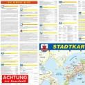 Plön Amt und Stadt, als Straßenkarte in 1:30.000