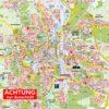 Lüneburg mit Adendorf, Bardowick und Scharnebeck, 1 : 22.500, als Stadtplan