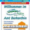 Berkenthin Amt, als Amtsplan in 1:30.000