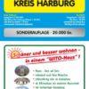 Sonderauflage Buchholz 1:25.000 + Kreis Harburg 1:100.000, Stadtplan und Kreiskarte