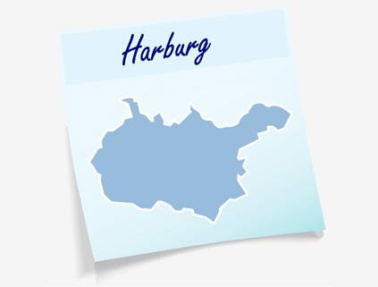 Übersichtskarte Landkreis Harburg