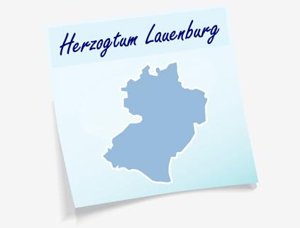 Übersichtskarte Kreis Herzogtum Lauenburg