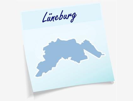 Übersichtskarte Landkreis Lüneburg