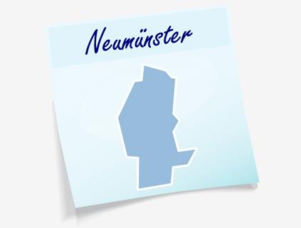 Übersichtskarte Stadt Neumünster