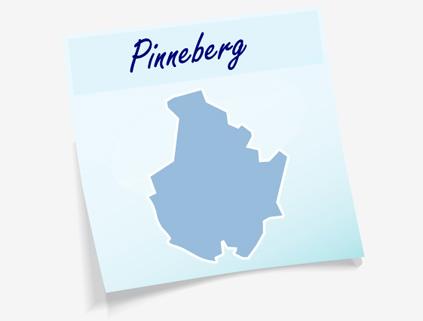 Übersichtskarte Kreis Pinneberg