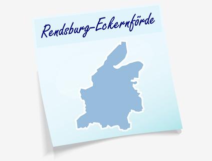 Übersichtskarte Kreis Rendsburg-Eckernförde